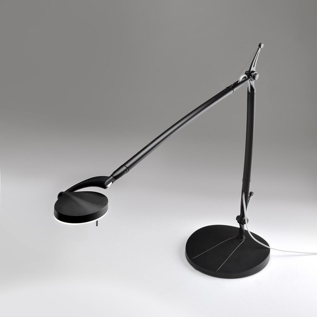 Milan Perceval LED Tischleuchte, schwarz lackiert