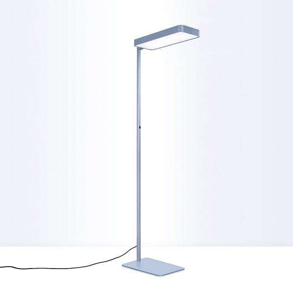 Lightnet Caleo-S1 Stehleuchte, Multisensor, Silber matt