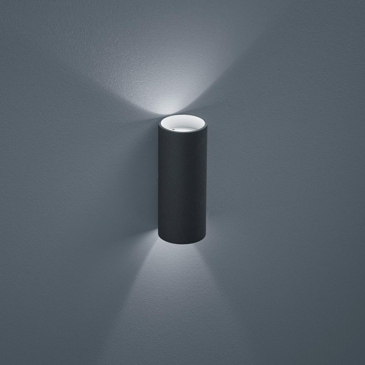 Helestra Swift LED Außenwandleuchte, graphit