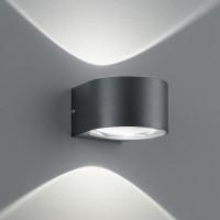 B-Leuchten Cona LED Wandleuchte, schwarz