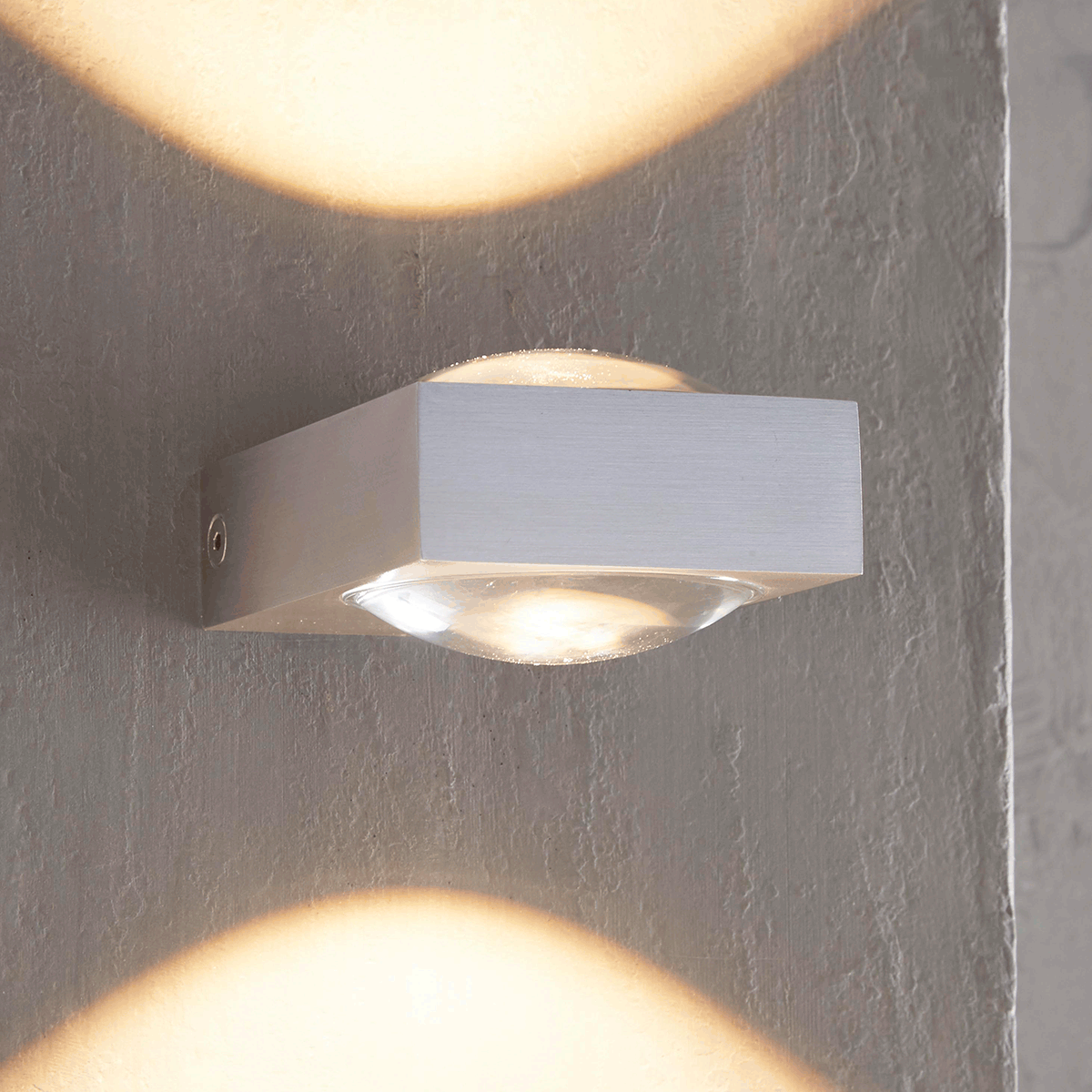 MyLight Jena LED Wandleuchte, Aluminium