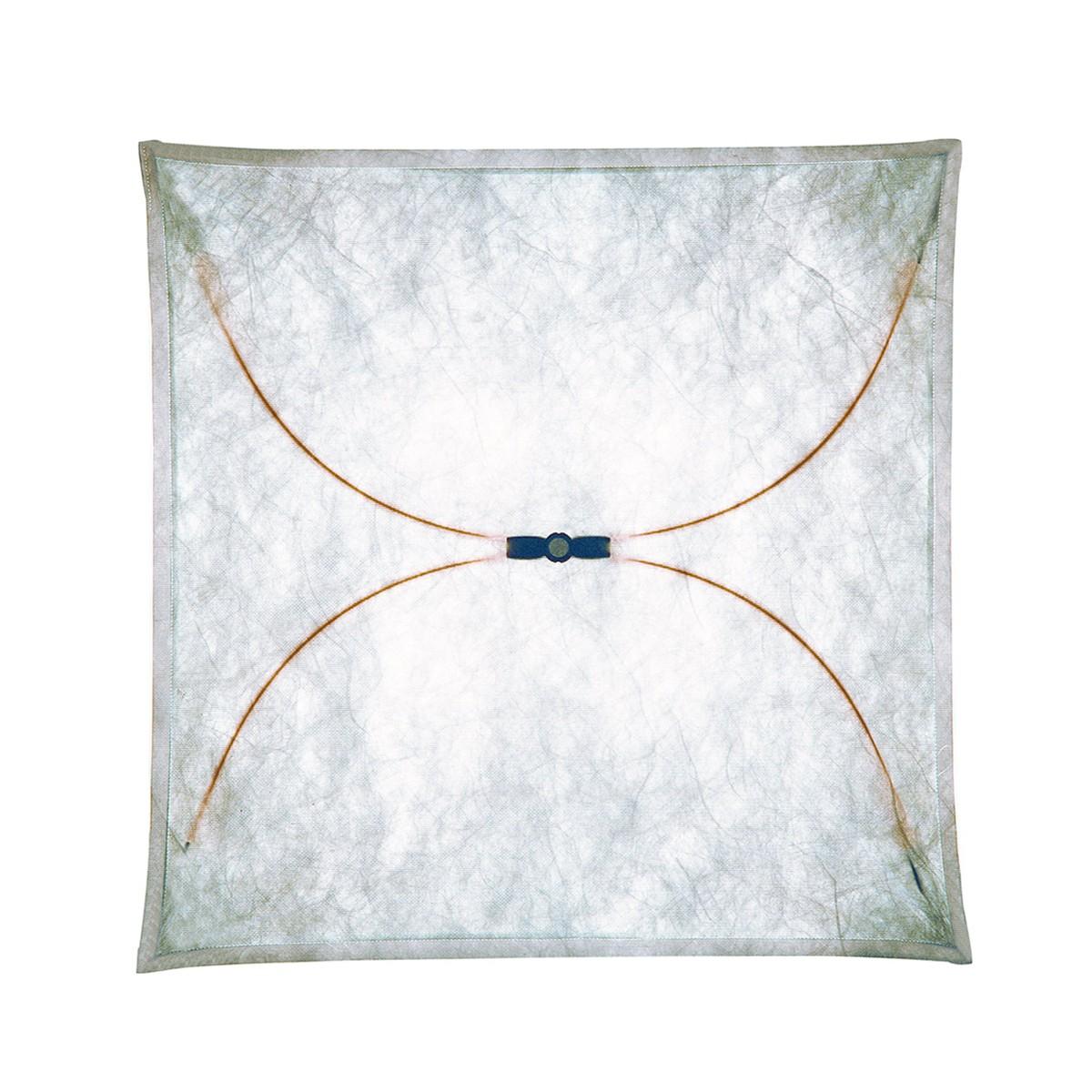 Flos Ariette Wand- / Deckenleuchte, 100 x 100 cm, Stoff