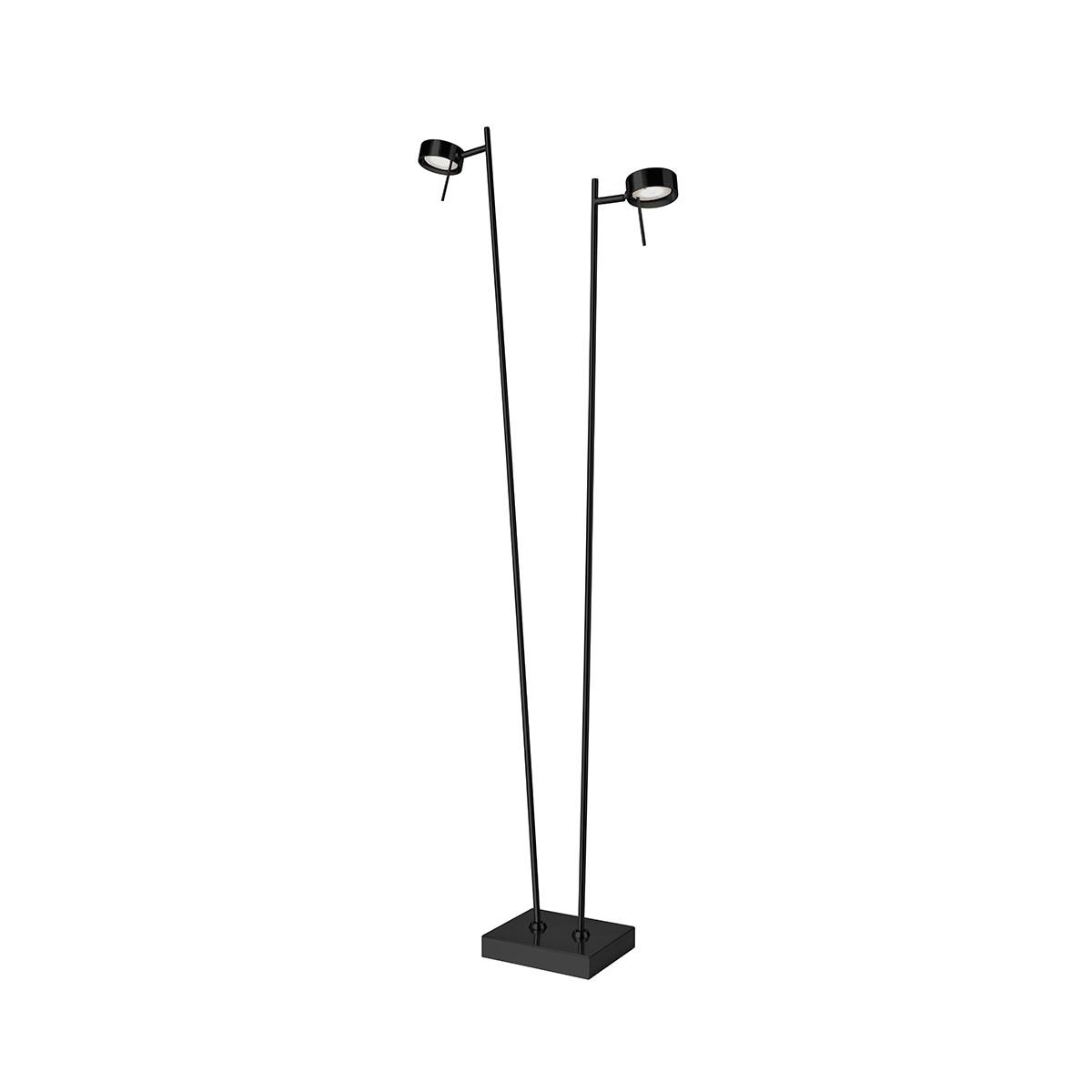 Sompex Bling LED Stehleuchte, 2-flg., schwarz