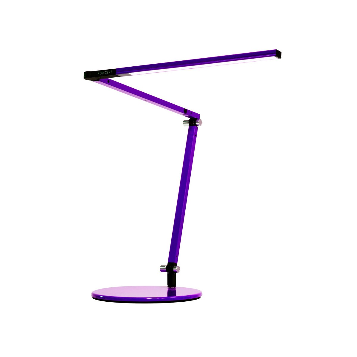 BellXpress Z-Bar Mini Tischleuchte, violett