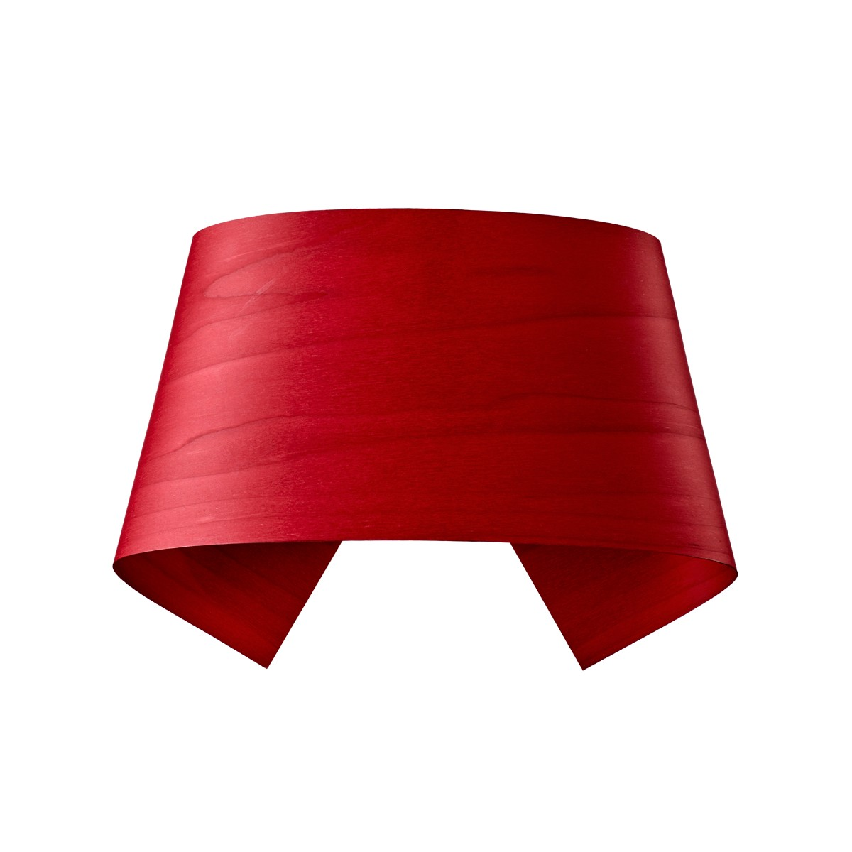 LZF Lamps Hi-Collar LED Wandleuchte, rot