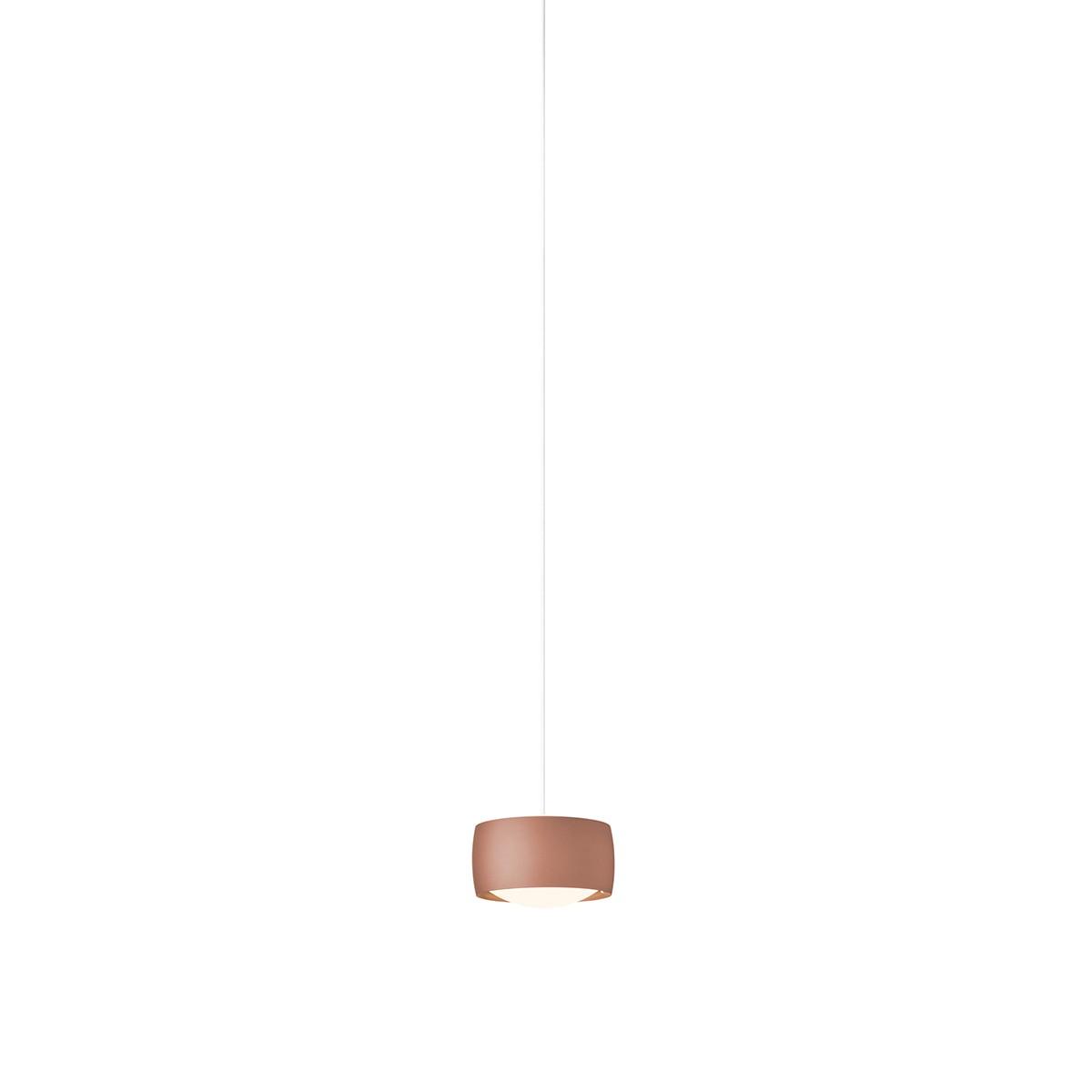 Oligo CHECK-IN Grace LED Pendelleuchte, Satin copper, Adapter: Chrom