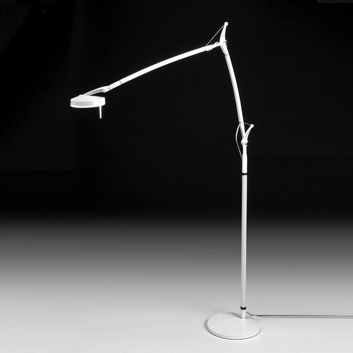 Milan Perceval LED Stehleuchte, weiß lackiert
