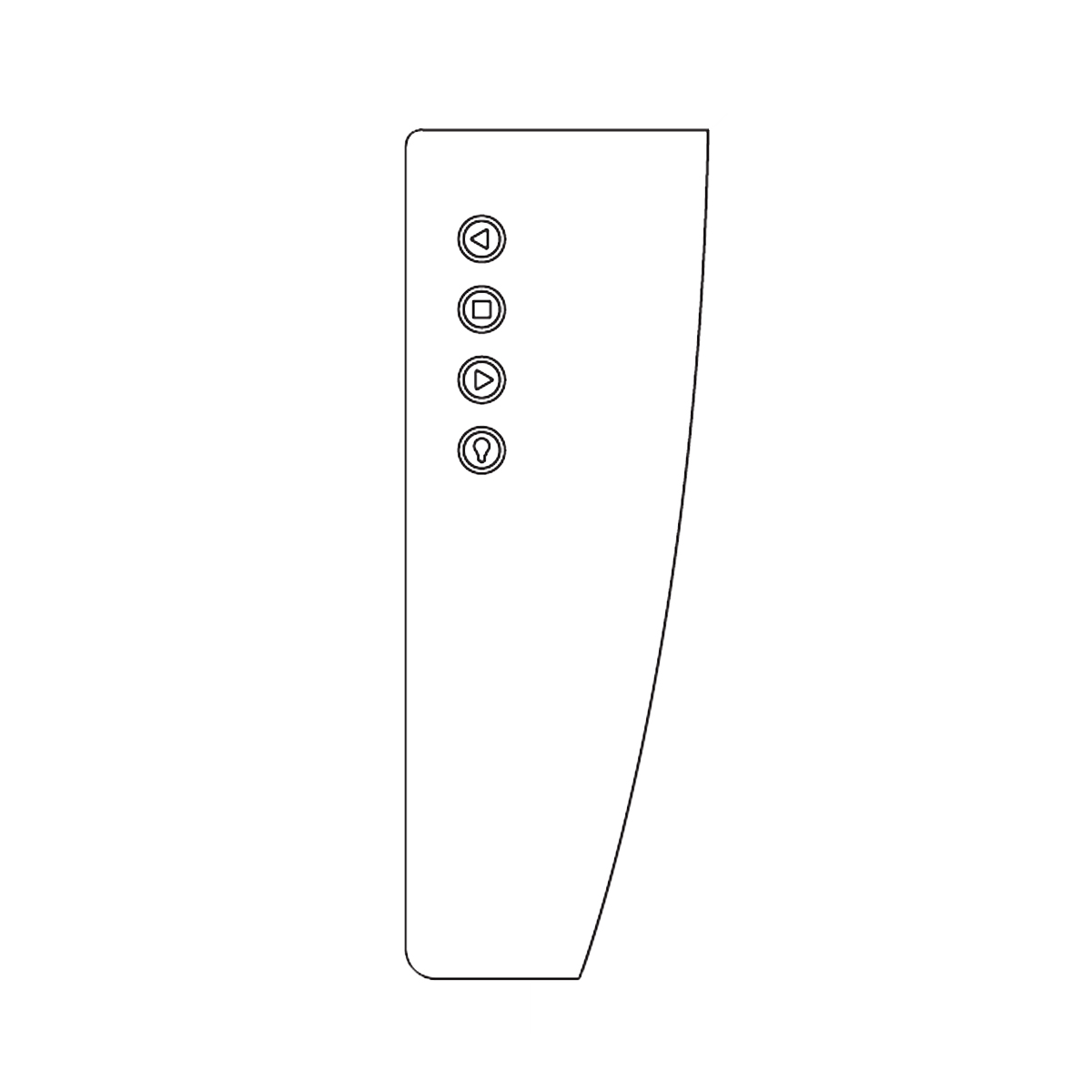 Luceplan Blow Infrarot-Fernbedienung 1D280R000000