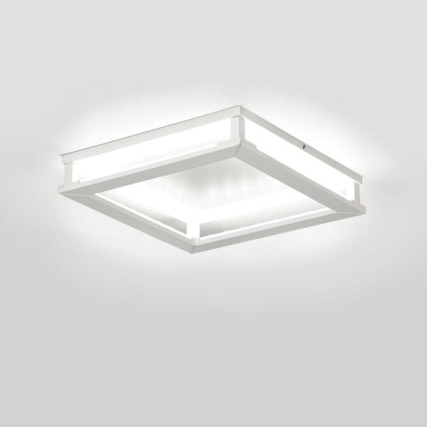 Milan Gil Deckenleuchte, 19,7 x 19,7 cm, weiß