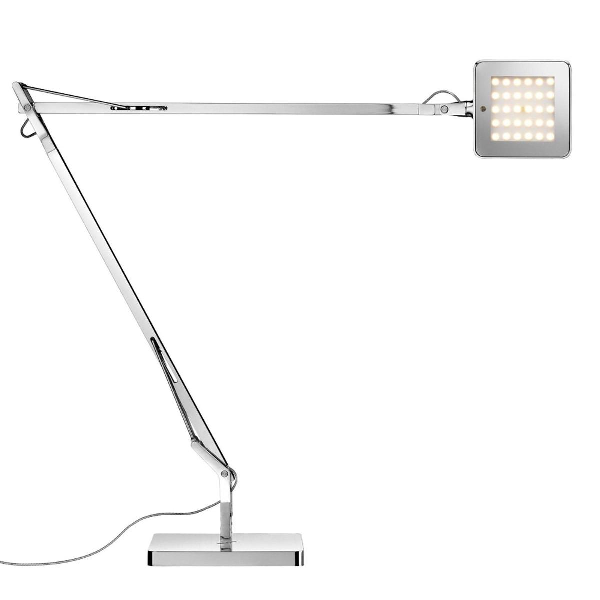 Flos Kelvin LED Tischleuchte, Chrom