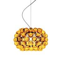 Caboche Piccola Sospensione, giallo oro (goldgelb)