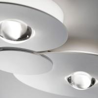 Studio Italia Design Bugia Double Deckenleuchte, weiß
