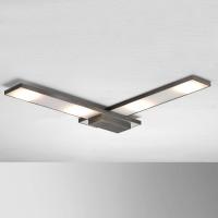 Bopp Slight LED Deckenleuchte, 50 x 50 cm, anthrazit