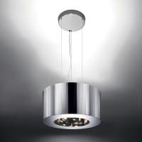 Artemide Tian Xia 500 Sospensione LED, Aluminium glänzend