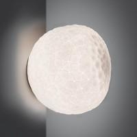 Meteorite Parete / Soffitto, Breite: 48 cm, weiß, dimmbar