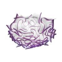 Veli Ceiling / Wall Medium, plum (lila)