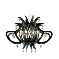 Medusa Suspension, black (schwarz)