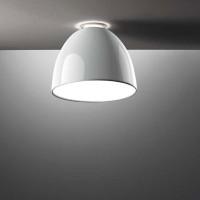 Nur Mini Gloss LED Soffitto, weiß glänzend