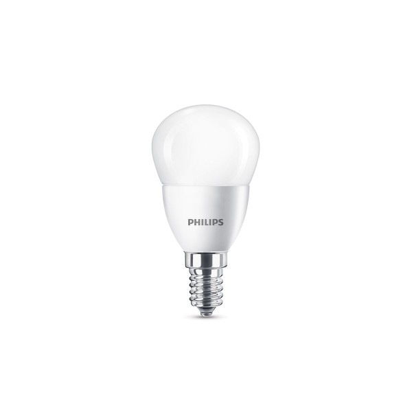 Philips LED Tropfen E14 5,5 W, neutralweiß, matt