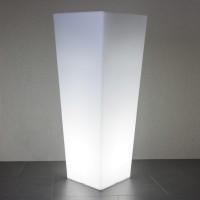 Quadro Außenleuchte, weiß, Höhe: 100 cm