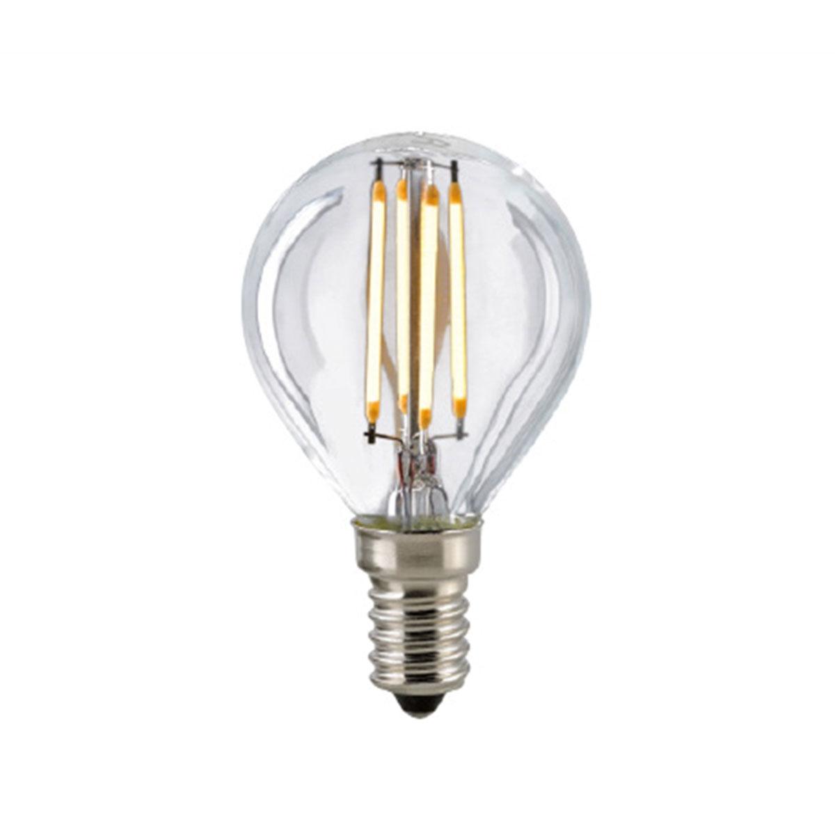 sigor led filament kugellampe e14 5 w warmwei dimmbar. Black Bedroom Furniture Sets. Home Design Ideas