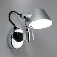 Tolomeo Micro Faretto LED, ohne Schalter, Aluminium