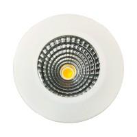 MOBiDIM COB Slim R IP44 Einbaustrahler, 3000 K, 5 W, weiß