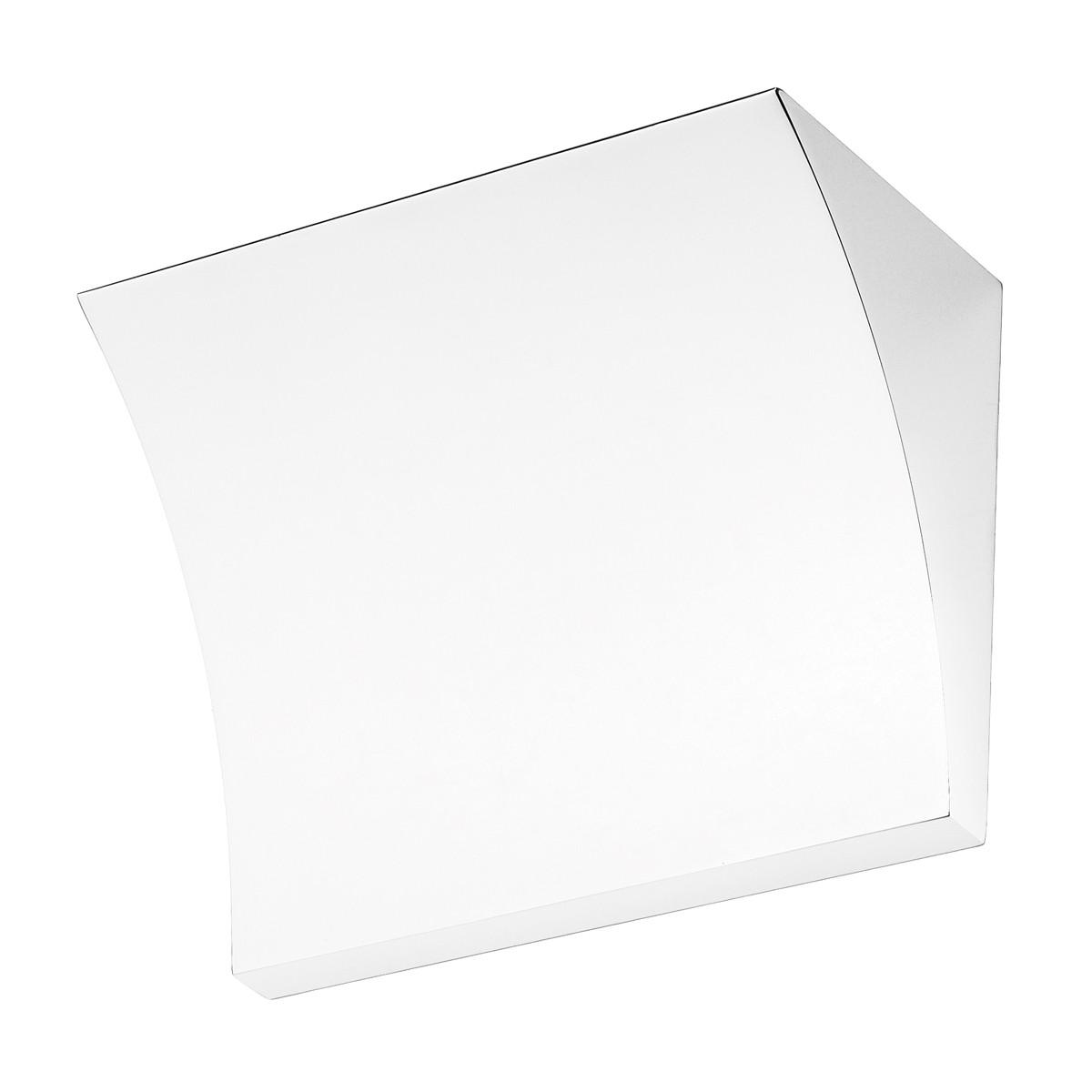 Flos Pochette LED Wandleuchte, weiß glänzend