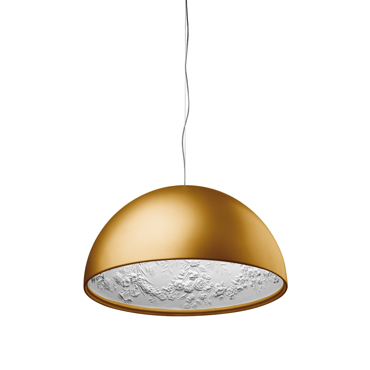 Flos Skygarden Pendelleuchte, Ø: 60 cm, Gold matt