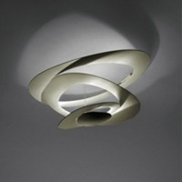 Pirce Soffitto LED, gold