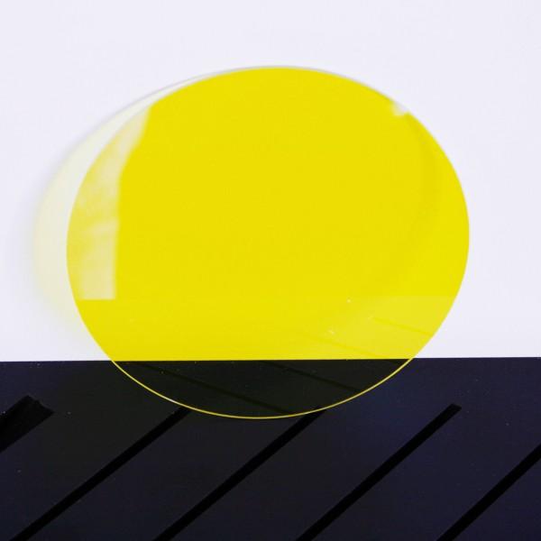 Vio Glas, gelb