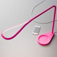 Kinx Tischleuchte, pink