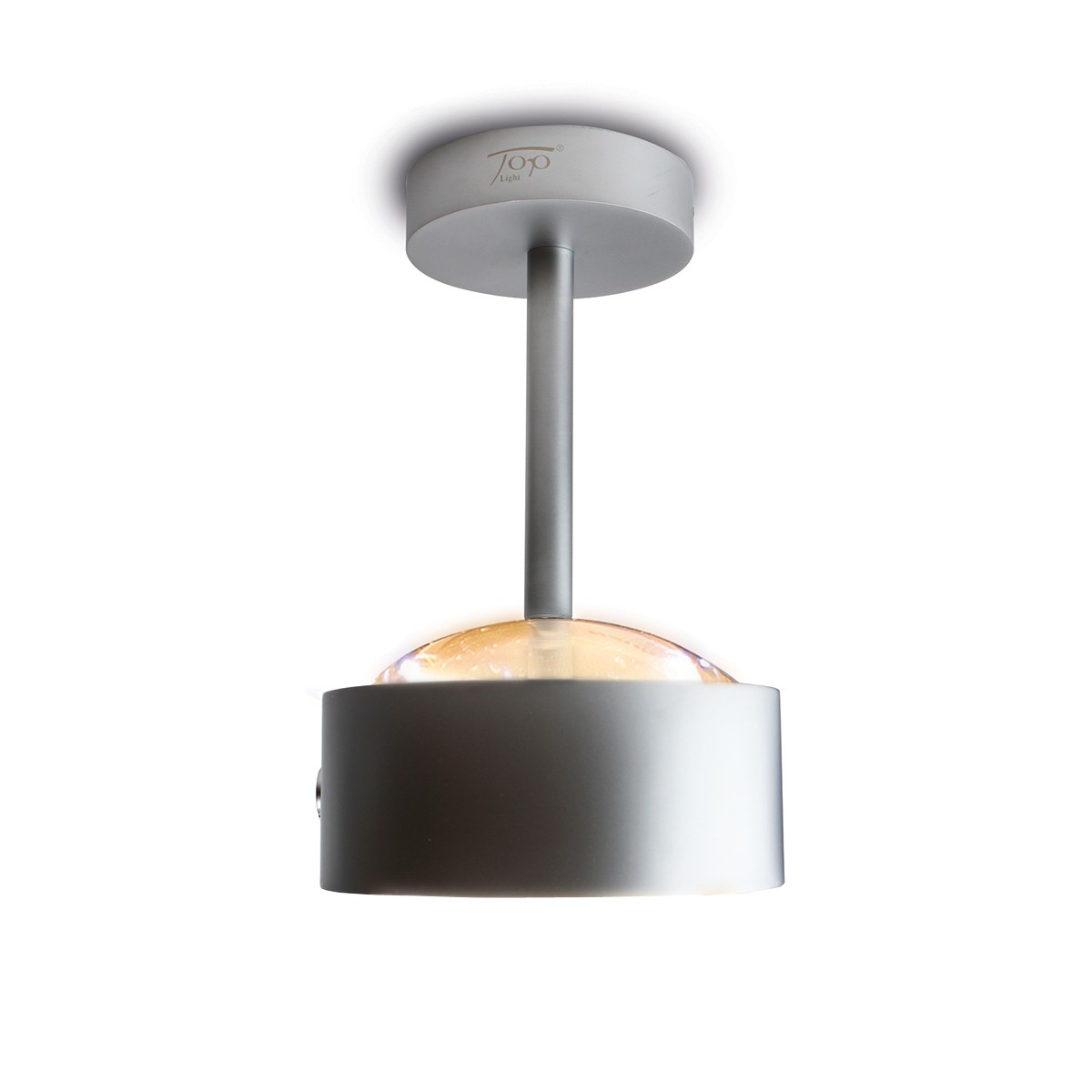 Top Light Puk Maxx Eye Ceiling Deckenleuchte, Chrom matt