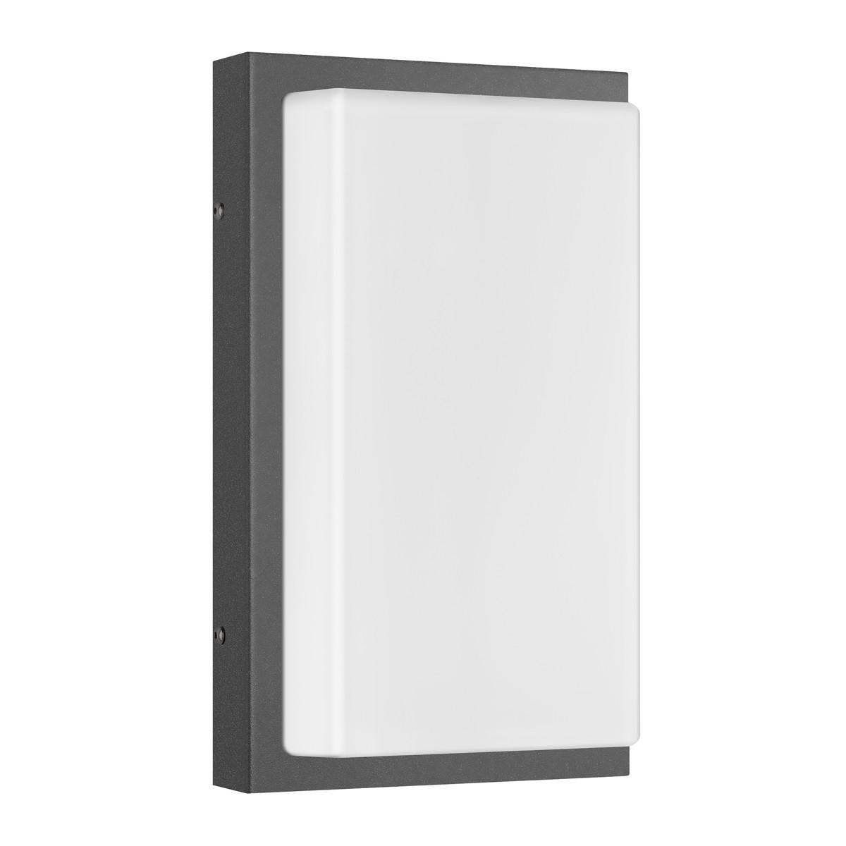 LCD Außenleuchten 058 Wandleuchte LED, graphit, ohne Bewegungsmelder