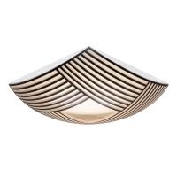 Secto Design Kuulto 9100 Wand- / Deckenleuchte, schwarz laminiert