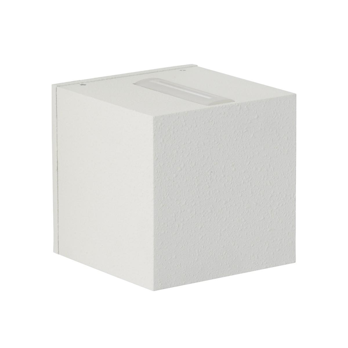 Albert 2371 Wandstrahler, eng/breit, weiß