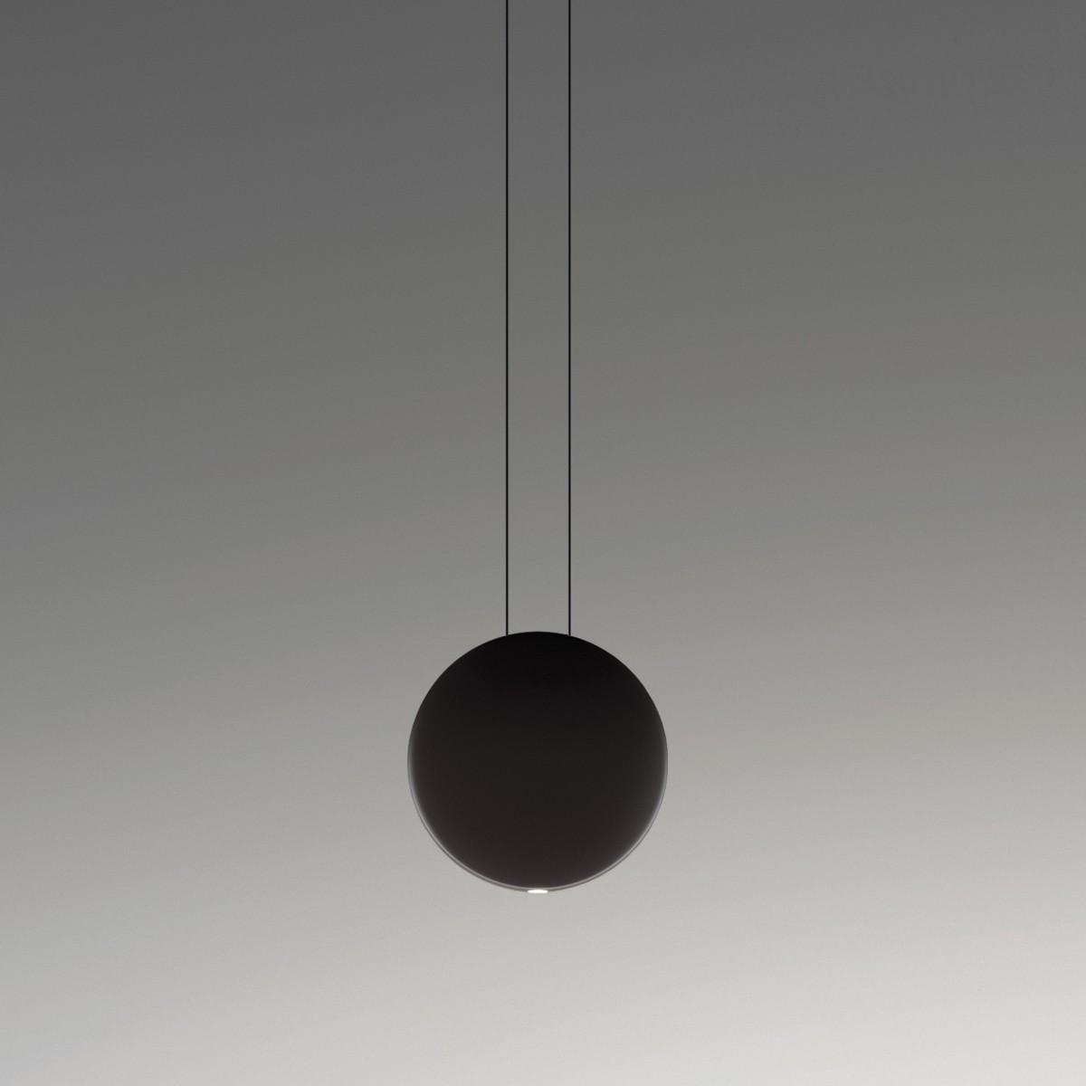 Vibia Cosmos 2501 Pendelleuchte, dunkelbraun matt