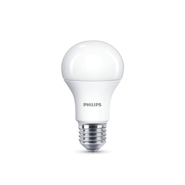 Philips LED Lampe E27 11,5 W, warmweiß, dimmbar, matt