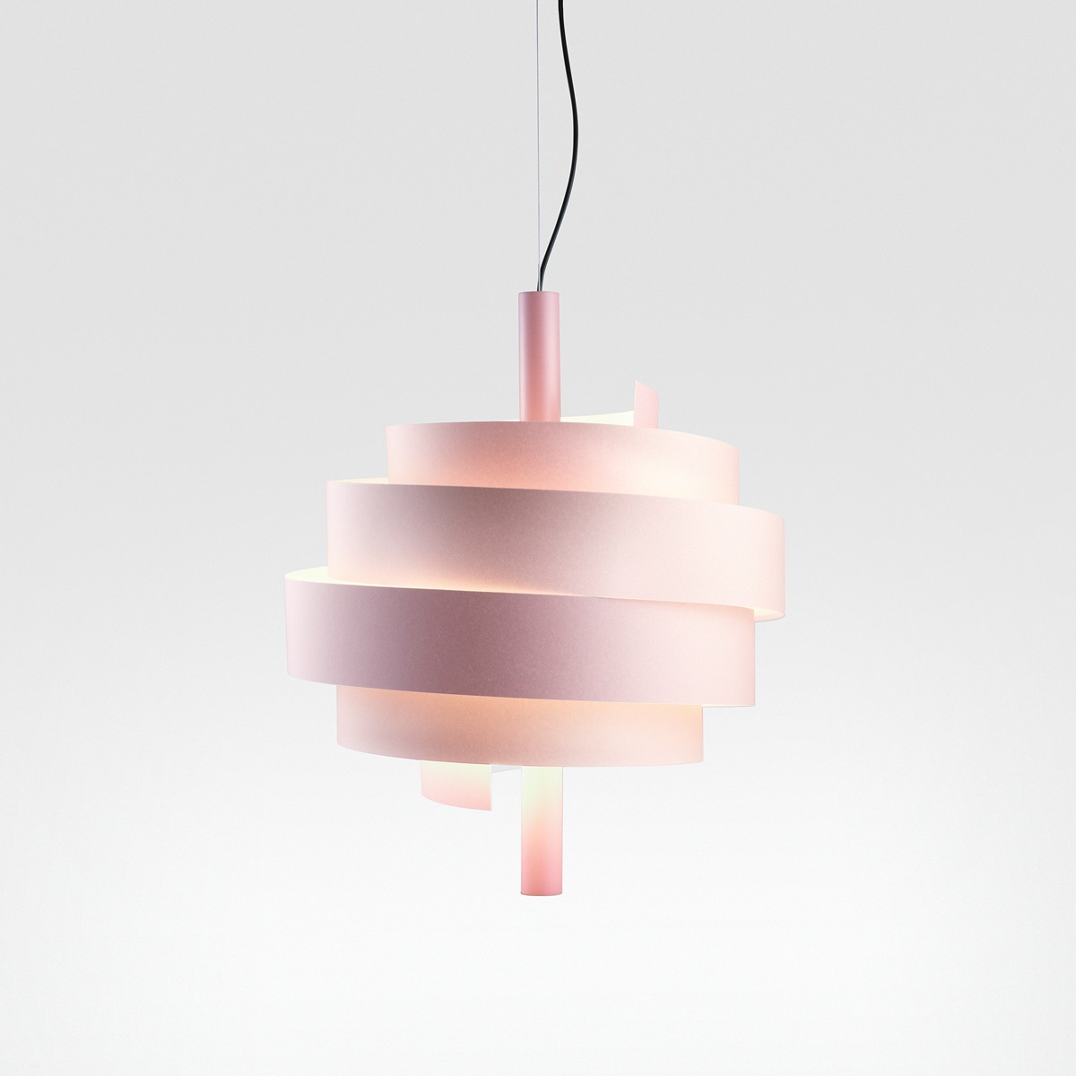 Marset Piola LED Pendelleuchte, rosa