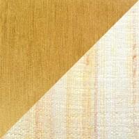 2543 Stehleuchte, Messing poliert / matt, Wildseide