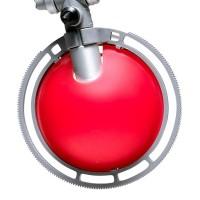 Berenice Tavolo Piccola, Gestell: Aluminium, Reflektor: rot