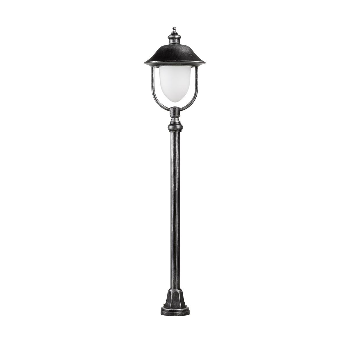 LCD Außenleuchten 1152/1155 Stehleuchte, schwarz/Silber