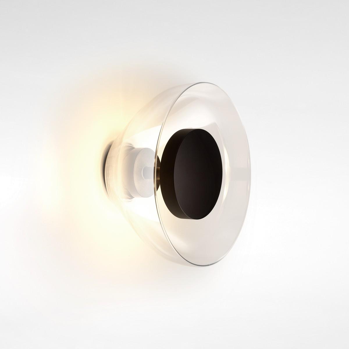 Marset Aura LED Wandleuchte, transparent