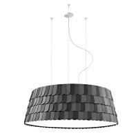 Roofer Pendelleuchte, Ø: 119 cm, schwarz