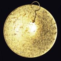 Luna Piena Deckenleuchte, Ø: 80 cm, Gold