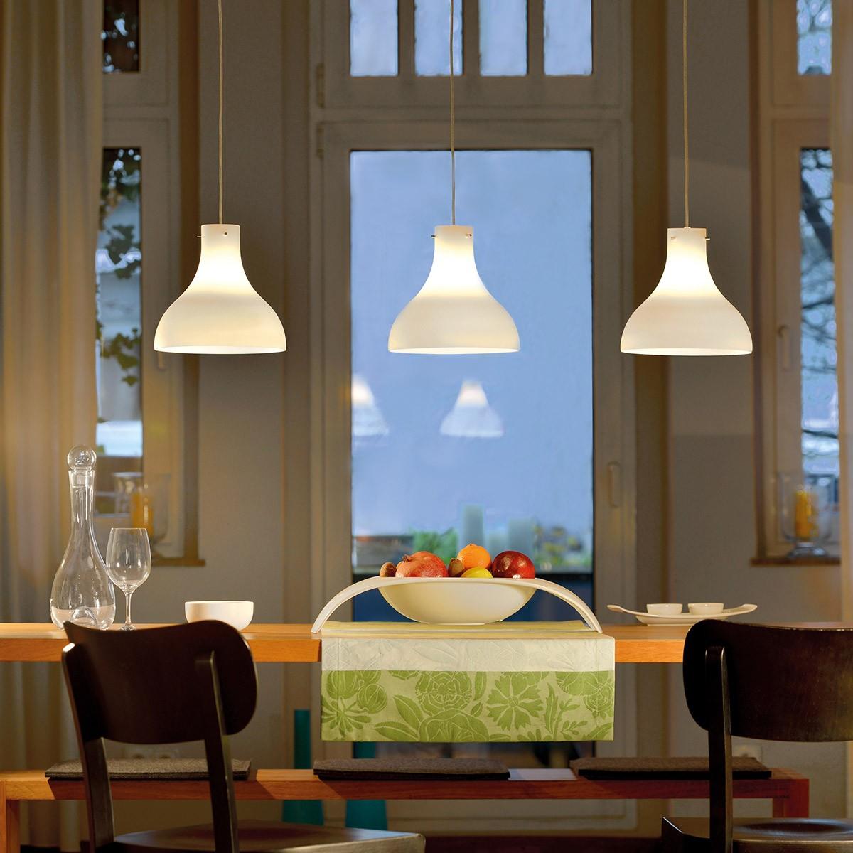 Villeroy & Boch Oslo Pendelleuchte, Glas: weiß