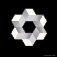 Grossmann Geo LED Deckenleuchte, Aluminium gebürstet
