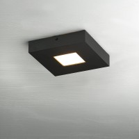 Bopp Cubus LED Deckenleuchte, 1-flg., schwarz