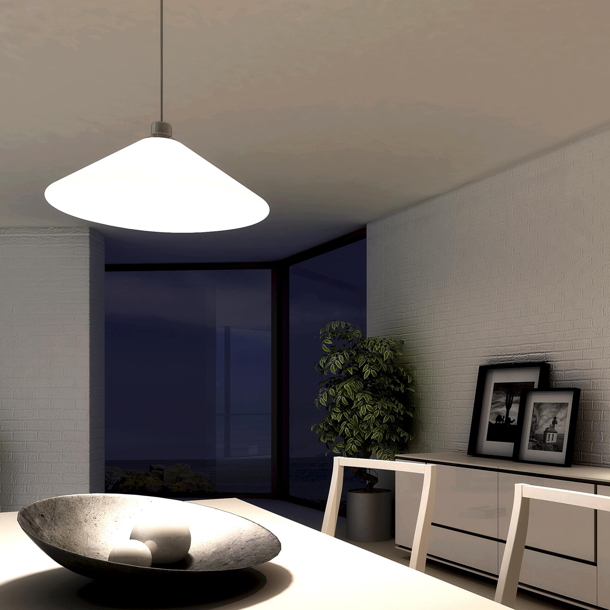 milan rimbo pendelleuchte. Black Bedroom Furniture Sets. Home Design Ideas