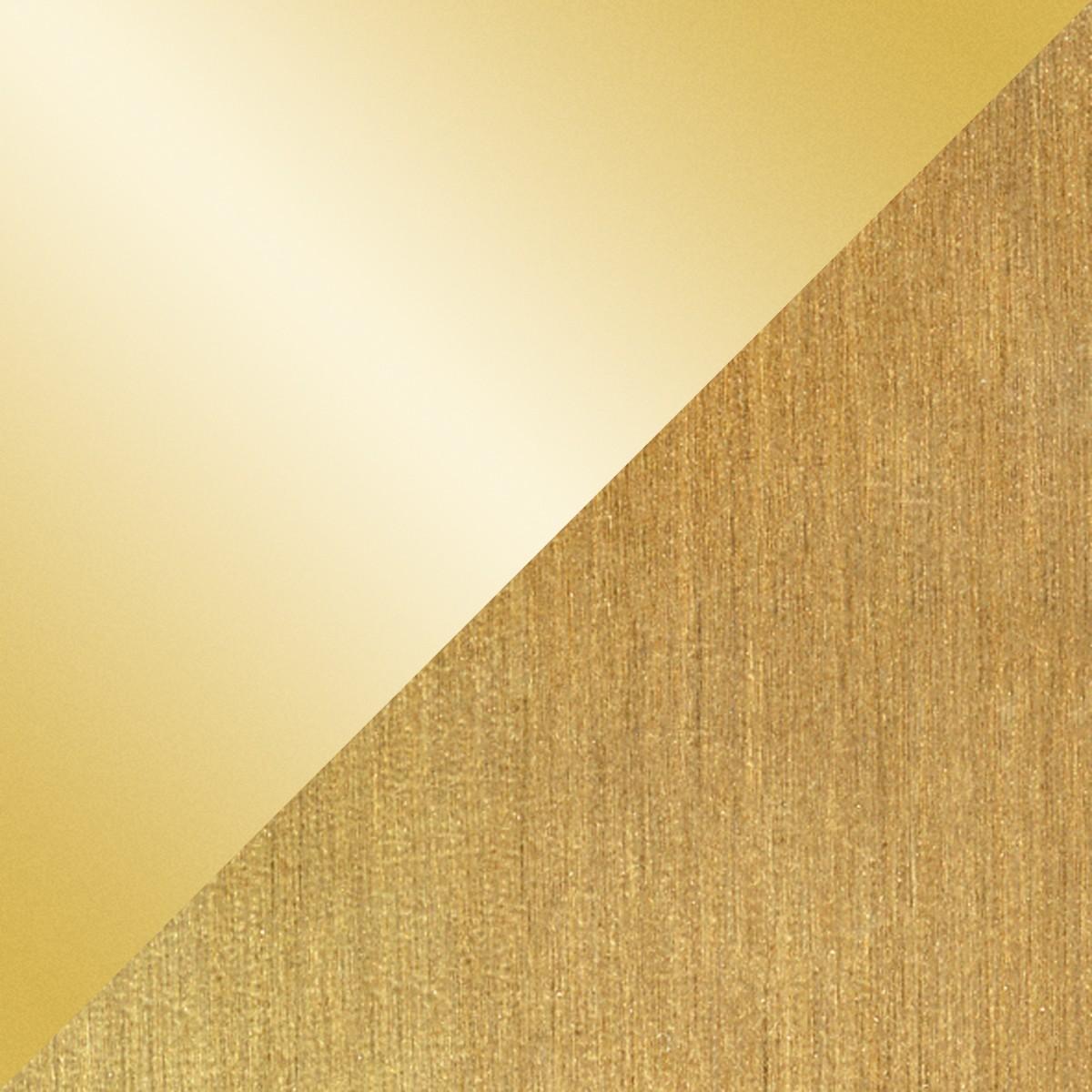 Holtkötter Leuchten 9604 Stehleuchte, Messing poliert / matt